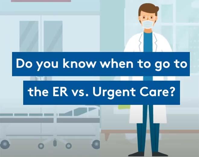 ER vs. Urgent Care